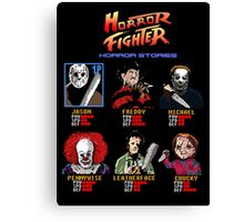 Horror Fighter Canvas Print