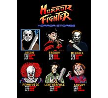 Horror Fighter Photographic Print