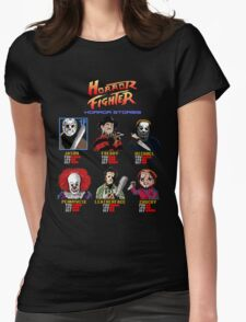 Horror Fighter Womens Fitted T-Shirt