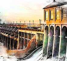 Watercolor Dam by JohnDSmith