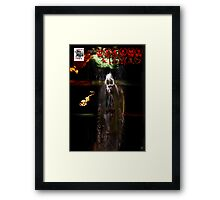 DREAMS AND DEMONS COVER Framed Print