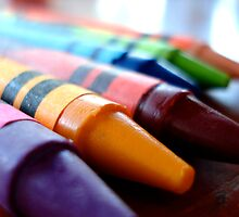 Crayons by Shannon Barker