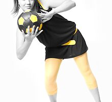Girl&Ball_2 by VioDeSign