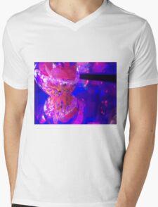 Pink Play Mens V-Neck T-Shirt