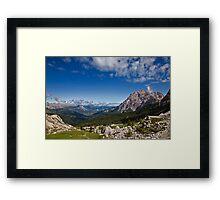 Val Badia Framed Print
