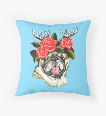Prince Lala Throw Pillow