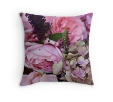 Petals attached Throw Pillow