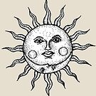 The Sun & The Moon by Octavio Velazquez