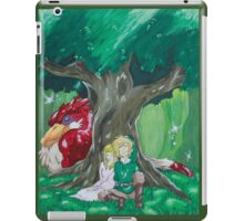 Link and Zelda napping iPad Case/Skin
