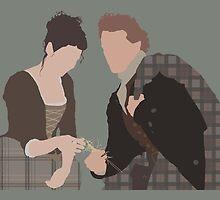 Jamie & Claire Fraser III - Outlander by Mivaldi