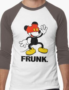 Frunked Mouse. Men's Baseball ¾ T-Shirt