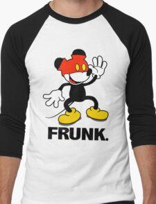 Frunked Mouse. Men's Baseball ¾ T-Shirt