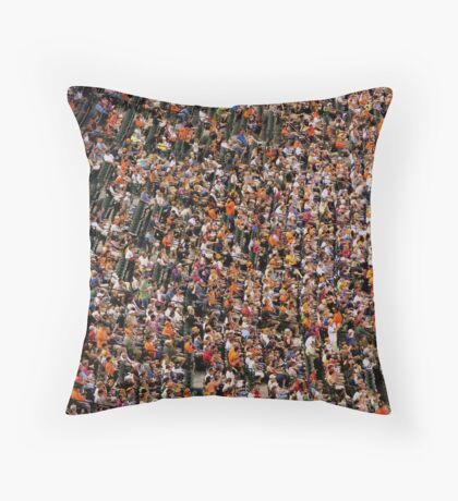 watching the game Throw Pillow