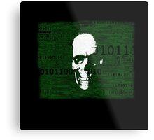 Virus Code Binary.exe Metal Print