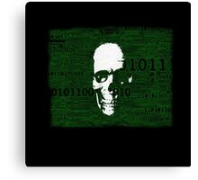 Virus Code Binary.exe Canvas Print