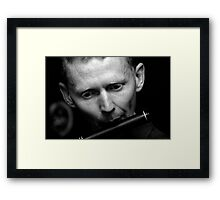 Irish Flute Framed Print
