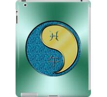 Pisces & Horse Yin Metal iPad Case/Skin
