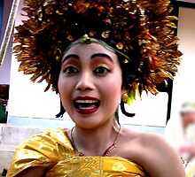 Balinese Princess dressed for her tooth filing by JonathaninBali