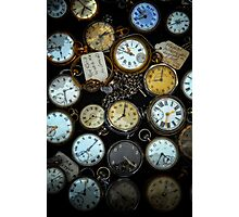 What's the Time Photographic Print