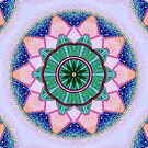 Mandala : Heart Energy Centre by danita clark