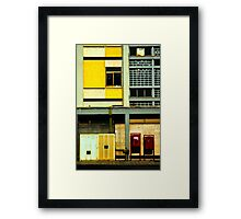 Mailboxes Framed Print