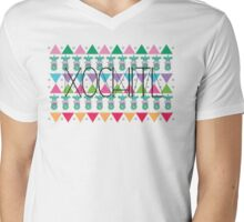 Aztec Xochitl Mens V-Neck T-Shirt