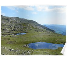 The Lake District: Three Tarns Poster