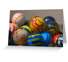 Marble Stack Greeting Card