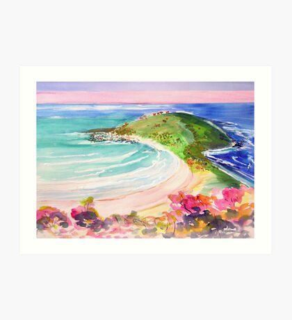 Angourie Headland  Art Print