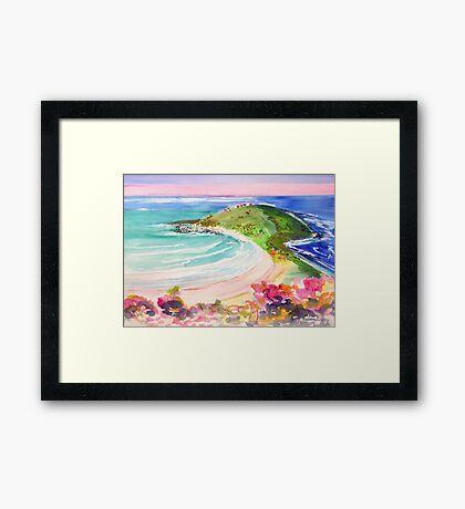 Angourie Headland  Framed Print