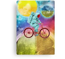 Spaceman Velo Omega Canvas Print