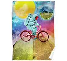 Spaceman Velo Omega Poster