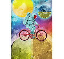 Spaceman Velo Omega Photographic Print