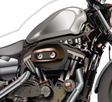 Harley Davidson Iron 883  Sticker