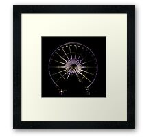 Wheel Of Perth 1 Framed Print