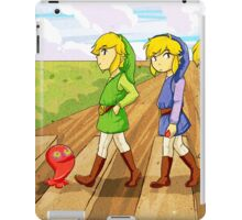 four swords crossing iPad Case/Skin