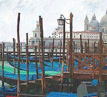 Santa Maria della Salute by Philip Teale