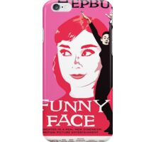 Audrey Hepburn in Funny Face iPhone Case/Skin