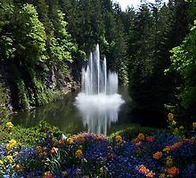 Butchart Gardens, BC, Canada by AnnDixon