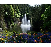 Butchart Gardens, BC, Canada Photographic Print