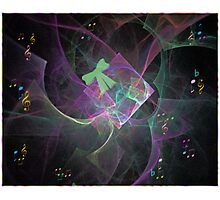 The Gift..Fractal Photographic Print