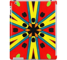 Colorful Starburst iPad Case/Skin