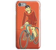 Retro Cyclist iPhone Case/Skin