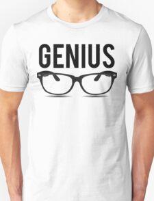 Genius Geek Glasses Nerd Smart T-Shirt