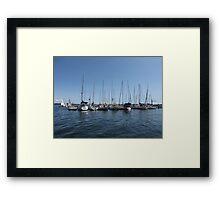 Kingston Harbor Framed Print