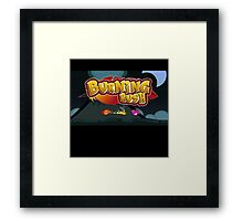 Burning Rush - Android Indie Game Framed Print