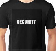 security shirt Unisex T-Shirt