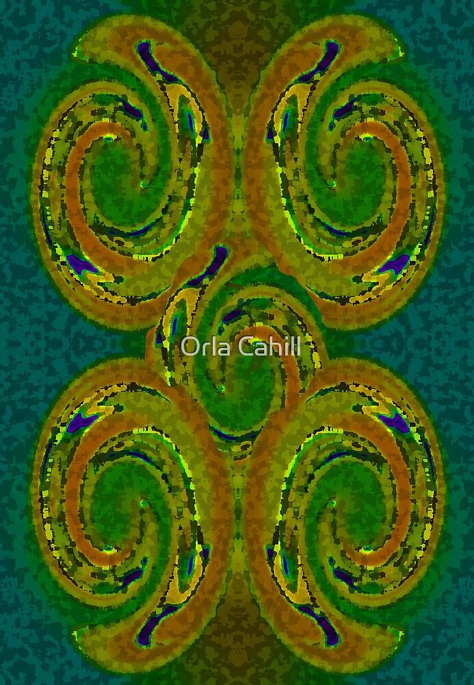 Celtic Swirls by Orla Cahill