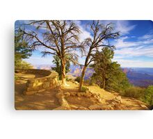 """Sunrise On The Rim"" Canvas Print"