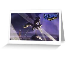 Sly Cooper: Thieves in Time  Greeting Card